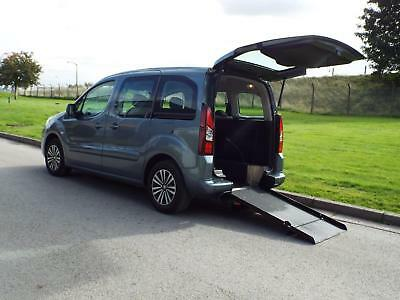 Peugeot Partner 1.6HDi Auto WAV Wheelchair Accessible Vehicle Disability Car