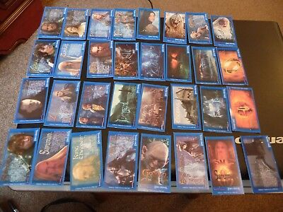Bassett's & Beyond Lord of the Rings Middle Earth Candy Stick card set of 32