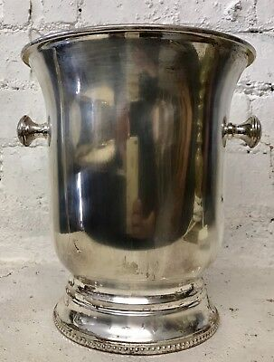 Antique Quality Gorgeous Silver Plated Wine/ Champagne Bucket