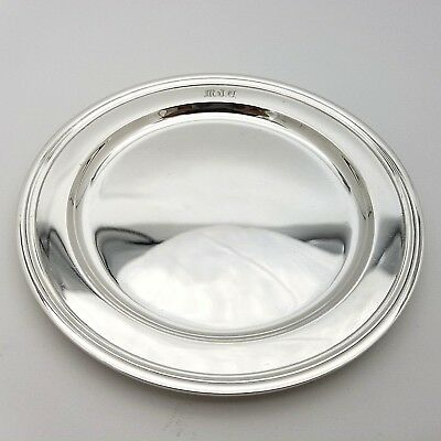Tiffany & Co. Makers Sterling Silver ~5.5'In Cookie Saucer Bread Charger Plate