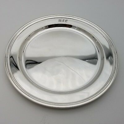 Tiffany & Co. Makers Sterling Silver ~5.5 In Cookie Saucer Bread Charger Plate