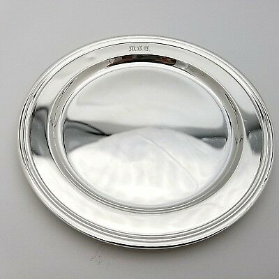 Tiffany & Co. Makers Sterling Silver ~5.5' In Cookie Saucer Bread Charger Plate