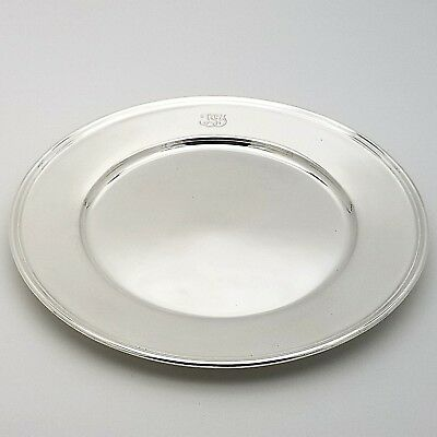 Tiffany & Co. Makers Sterling Silver ~6.5' In* Cookie Saucer Bread Charger Plate