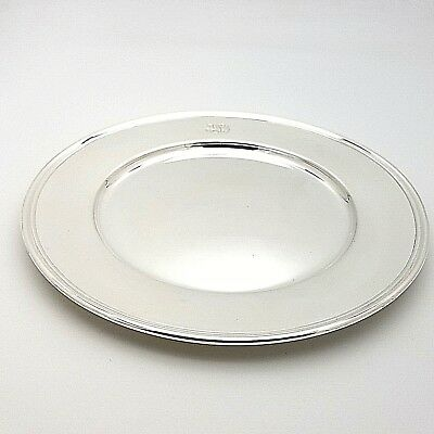 Tiffany & Co. Makers Sterling Silver ~6.5' In Cookie Saucer Bread Charger Plate
