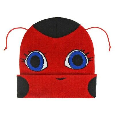 MIRACULOUS LADYBUG Berretto CAPPELLO CON ANTENNINE Invernale Original  WINTER HAT 9485d1bea52d