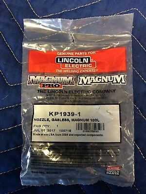 Lincoln Electric S23978-4 Gas Nozzle Magnum Welding Equipment Copper NOS S239784