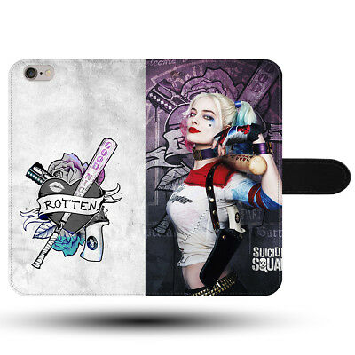 Hot Harley Quinn Suicide Squad Margot Robbie Synthetic Fabric Phone Case Cover