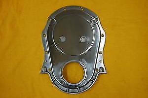 BBC POLISHED ALUMINUM Timing Cover Big Block Chevy Fits