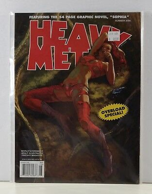Heavy Metal Magazine Overload Special Summer 2008 Volume 22 #2 De Vincentiis