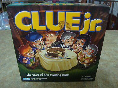 Clue Junior Jr Game The Case Of The Missing Cake My First Clue