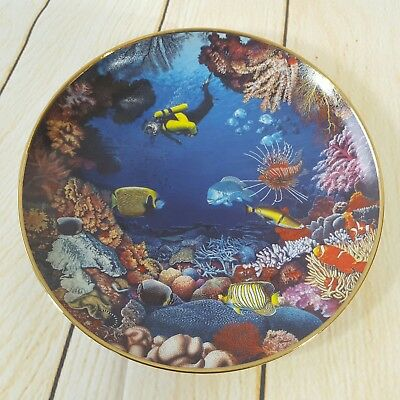Danbury Mint Hidden Paradise 1995 Limited edition collector plate