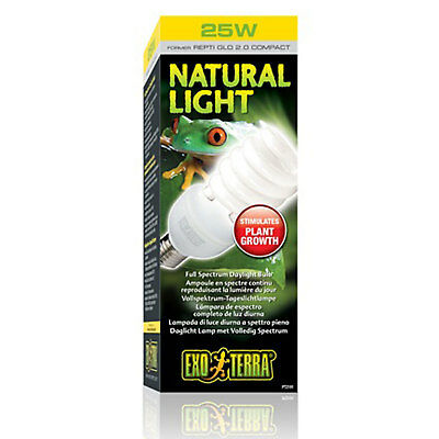 Exo Terra Natural Light Full Spectrum Daylight Bulb - 25W