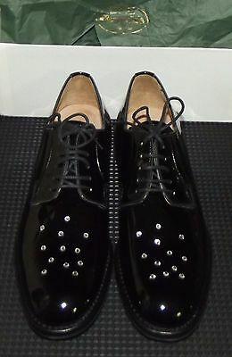 SCARPE SHOES DONNA CHURCH SHANNON MET Black vernice UK 4   IT 37 ... 00b9601ffa8