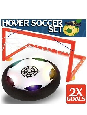 Kids Toys - Hover Soccer Ball Set with 2 Goal, Toy for Boys / Girls Age of 2, 3,