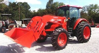 Kubota M9540 4x4 Cab with Loader