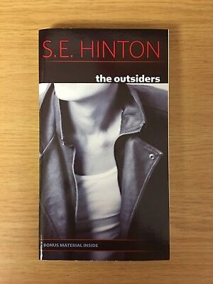 The Outsiders (with bonus material) by S.E. Hinton - BRAND NEW