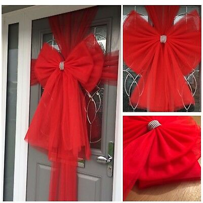 Christmas door bows Standard Bow Double Bow, Glitter Bow, Door Bow with Lights
