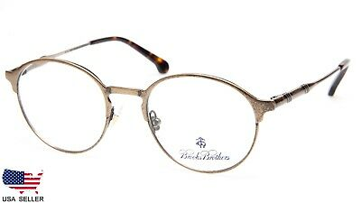 171d6c8f67a8 NEW BROOKS BROTHERS BB1048 1241 VINTAGE GOLD EYEGLASSES GLASSES 48-18-140  B42mm