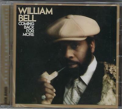 WILLIAM BELL  Coming Back for More  New Sealed R&B CD