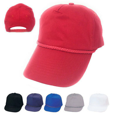 1 Dozen Boys Girls Kids Youth Size Cotton 5 Panel Baseball Hats Caps Wholesale