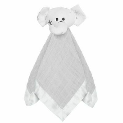 aden and anais lovey musy mate muslin baby security blanket: twinkle Grey