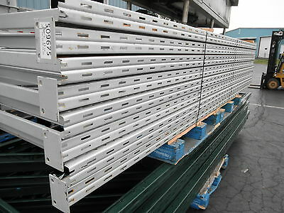 "4 Sections Ridge U Rack Uprights for Pallet Racking, 44"" x 120""......"
