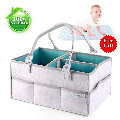 Great Baby Shower Or Holiday Giftdiaper Caddystorage Tote For Baby