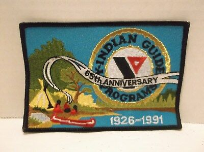 Y Indian Guide Program YMCA Patch 1991