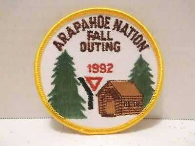Y YMCA Arapahoe Nation Fall Outing Patch 1992