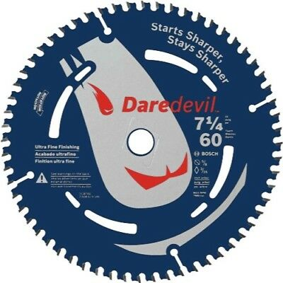 "Bosch- Daredevil 7-1/4"" 60-Tooth Ultra Fine Finishing Circular Saw Blade"
