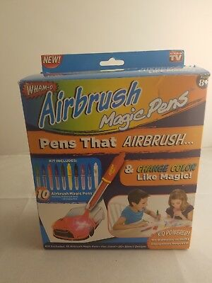 New Wham-O Airbrush Magic Pens As Seen on TV Pens That Airbrush And Change Color