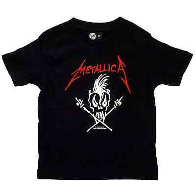 Metallica Scary Guy Kids Shirt Boys Girls Toddler Tshirt 2-15 Years T-shirt Top
