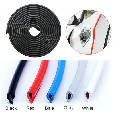 5-10m Car Universal Anti Collision Door Side Edge Rubber Bumper Protection Strip