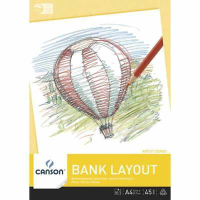 Canson Bank Layout Pad 45 gsm, 50 sheets (A4, A3)