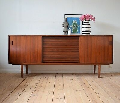 Danish Rosewood Credenza From Viby Møbelfabrik, 1960's.