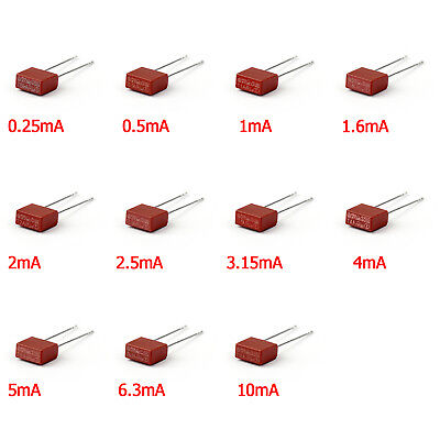 TR5 Miniature Fuse For 392 Series Solid State Square Body Fuse 250V A1