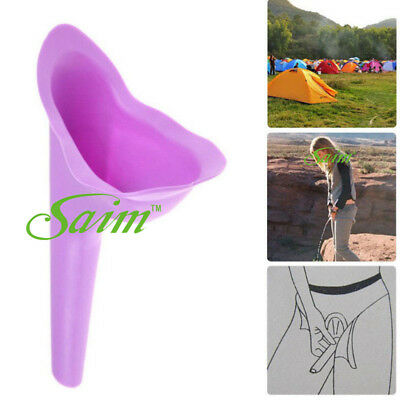 2 PCS Travelling stand up pee Womans Female Portable Hygienic Funnel Urine