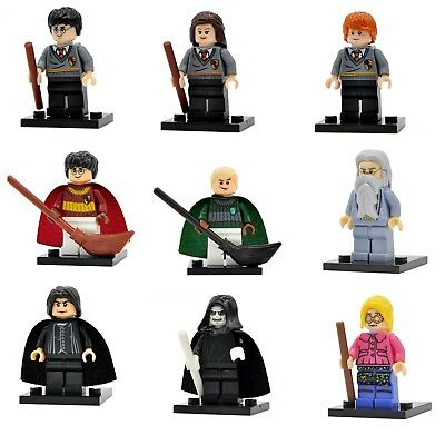 Harry Potter, Ron Weasley, Hermione, Draco, Dumbledore Mini Figures for Lego