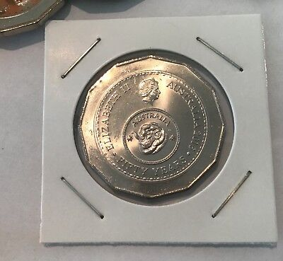 Australian 50 cent Coin - 2016 Changeover - UNC from Mint Bag