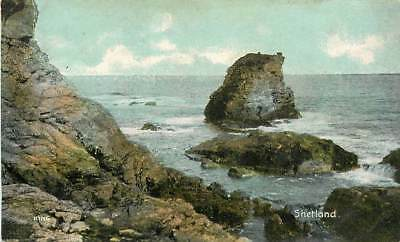 VINTAGE SHETLAND COLOUR POSTCARD by Shurey's Publications