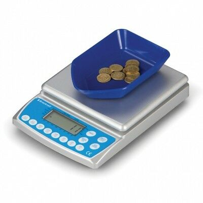 Salter Brecknell CC804 Scales / Cash / Money / Coin Counter *New £1 Coin Ready*