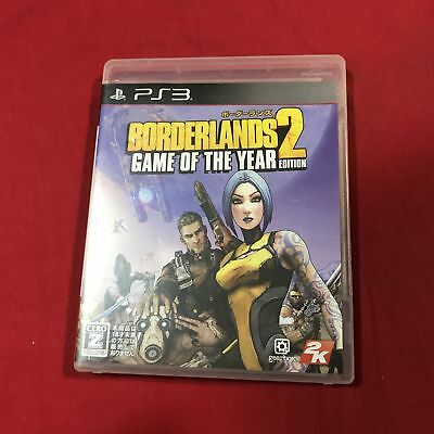 oc0375 Exc PS3 BorderLands Game of the Year Edition Japan import