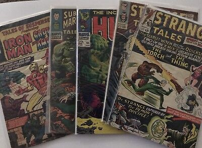 COMIC BOOK GRAB BAG! (5) SILVER, BRONZE, and MODERN BOOKS - MARVEL DC OTHER
