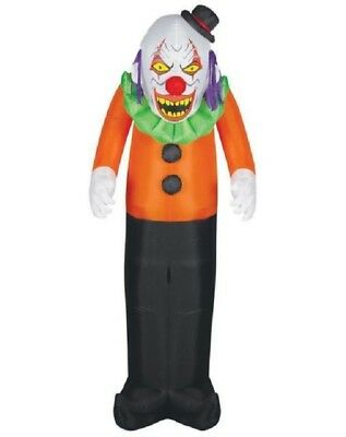 7 FT SCARY CLOWN Halloween Airblown Lighted Yard Inflatable
