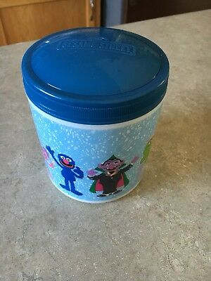 Sesame Street Thermos used once 10.5 oz