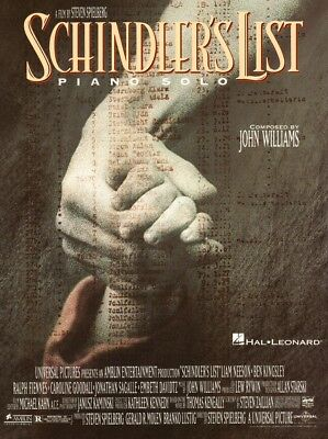 Schindler's List Schindlers Liste John Williams Noten für Klavier Piano