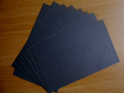 8 Sheets Ultra Fine Wet or Dry Sandpaper - 1200 Grit - 230mm x 140mm approx