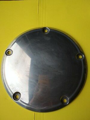 1999 - Up Harley Twin Cam Touring Dyna Clutch Derby Case Cover Polished 25415-99