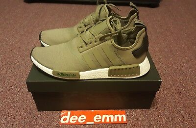ADIDAS NMD R1 Mesh Cargo Trail Olive Green Mens 11 DS 100% Real Authentic