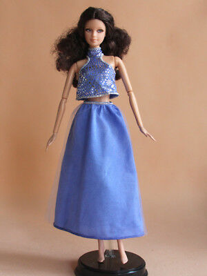 Barbie Doll Summer Holiday Halterneck Outfit Casual Wear Fashion